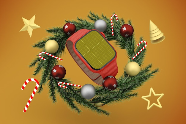 Christmas smart watch