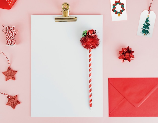 Christmas themed stationeries