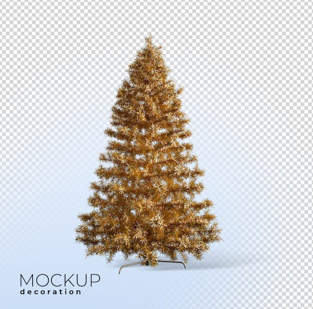 Christmas tree 3d render