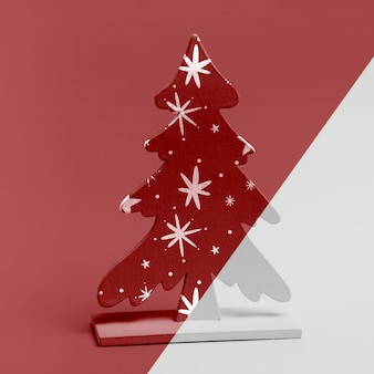 Christmas tree ornament mock-up