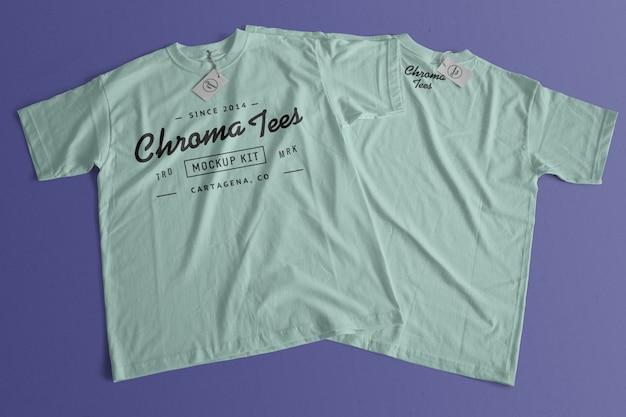 크로마티 티셔츠 이랑