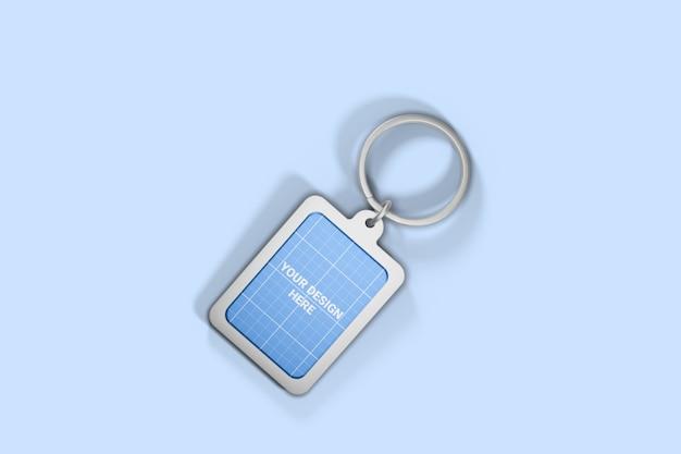 Chrome keychain mockup