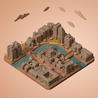 Cities world day model