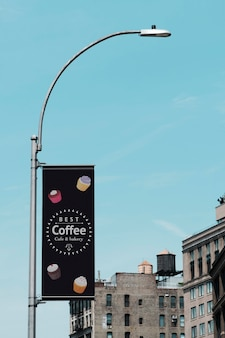 City billboard concept mock-up