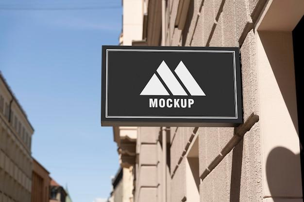 市のビジネスはモックアップに署名します