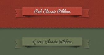 Classic ribbon set