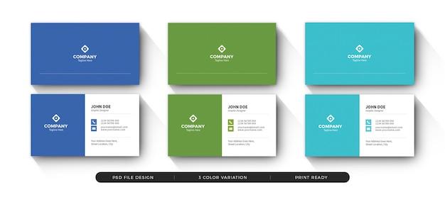 Clean business card 08