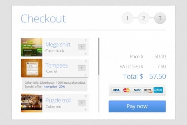 Clean checkout module design