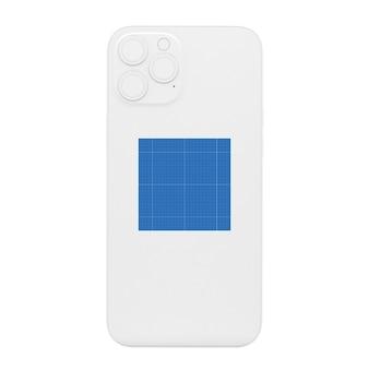 Clean dark phone mockup