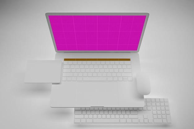 Clean laptop pro mockup v.3