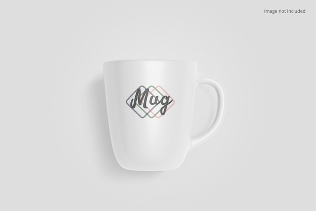 Clean mug mockup