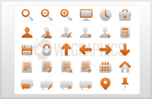 Clean navigation icons