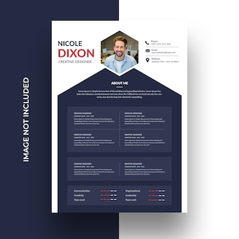 Clean professional cv template