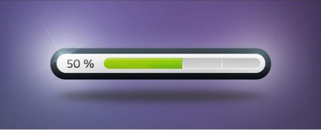 Clean progress bar