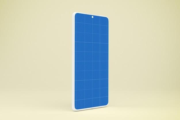 Чистый макет смартфона
