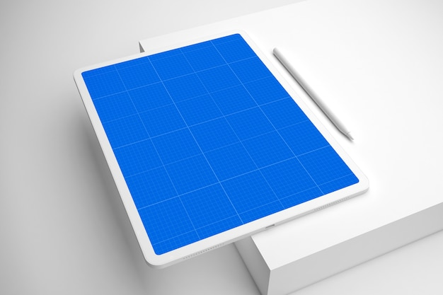 Clean tablet pro v.2 목업