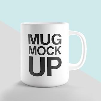 Clean tea coffee mug mockup