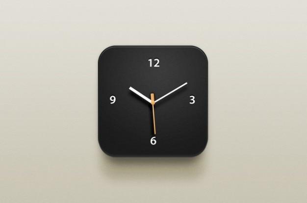 Orologio icona di un orologio icona ios ios icona
