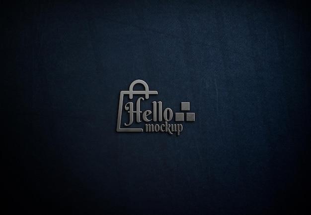 Элегантный дизайн макета логотипа крупным планом