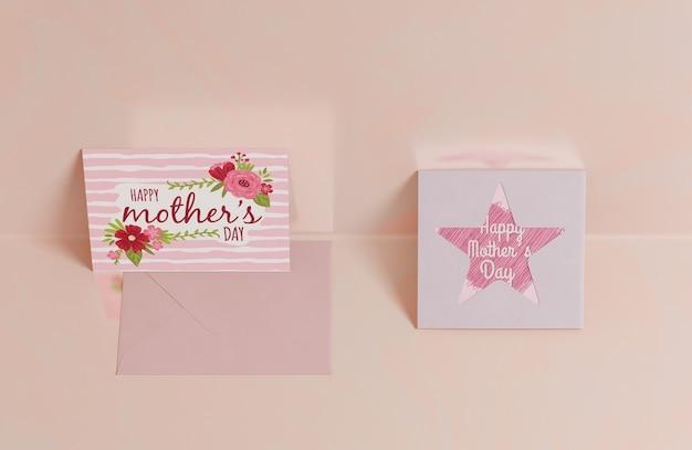 Close-up mothers daygreeting card