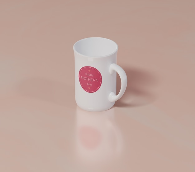 Close-up mothers day mug