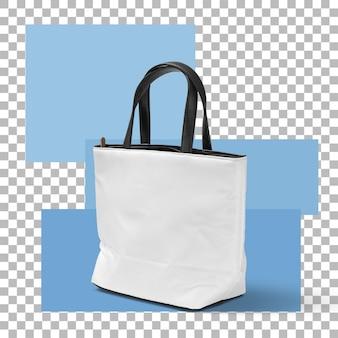 Крупным планом женская сумка изолирована