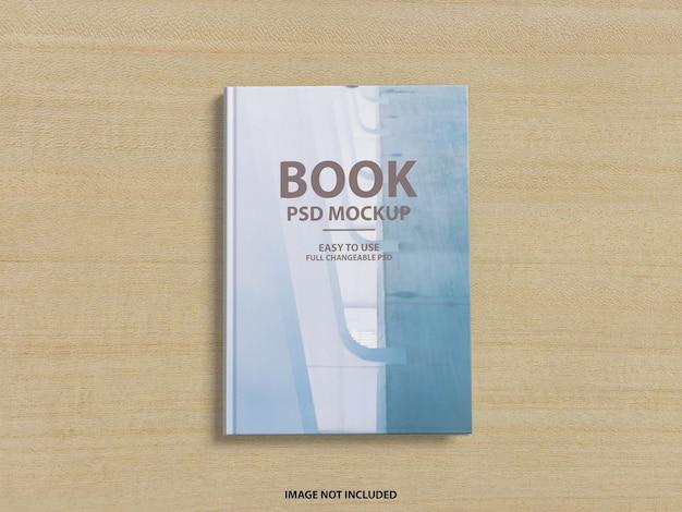 Крупным планом на 3d дизайн макета обложки книги