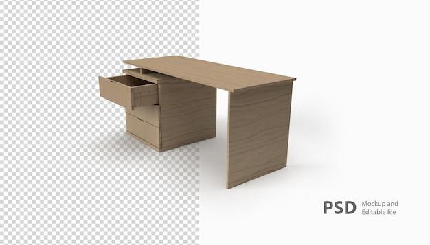 Крупным планом на столе рендеринга изолированные