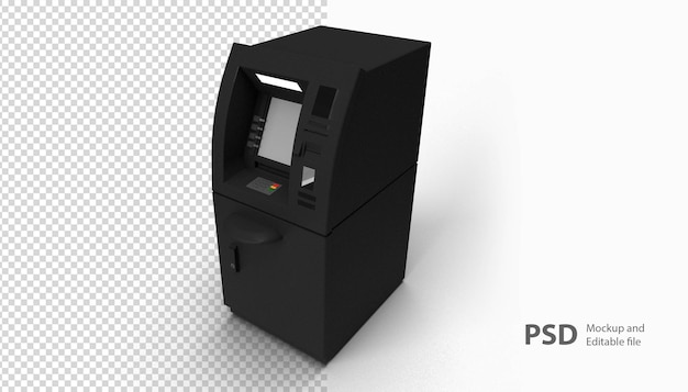 Atm 기계에 가까이 프리미엄 PSD 파일