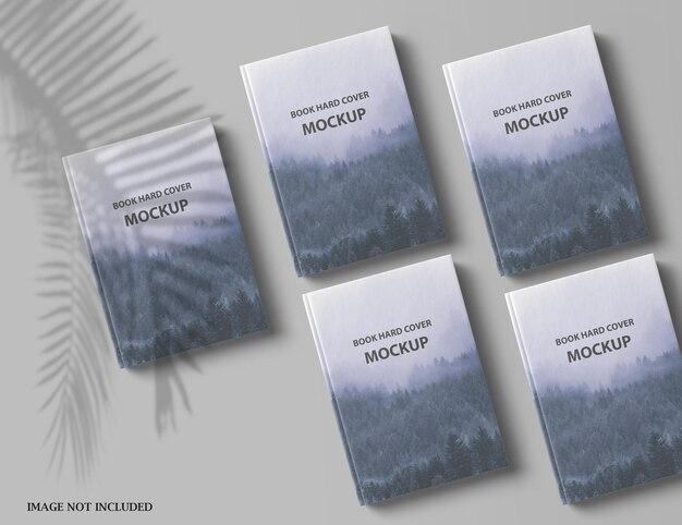 Крупным планом на красивый дизайн макета обложки книги