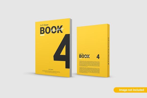 책 표지 모형 디자인에 닫기