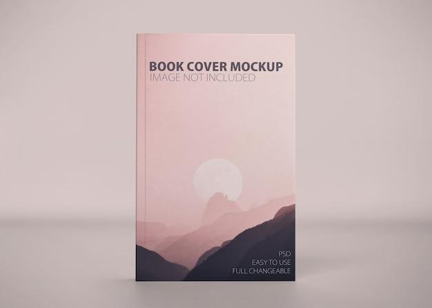 Крупным планом на изолированном макете книги