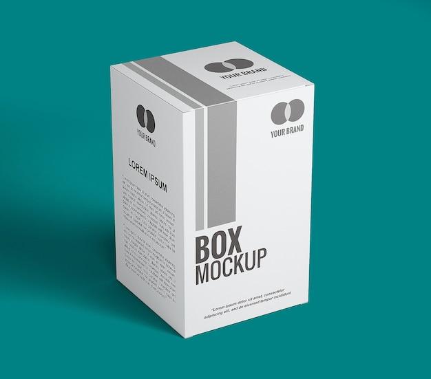 상자 모형 디자인에 가까이