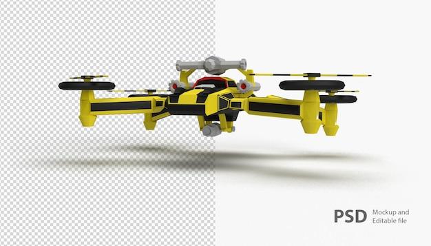 Крупным планом на дрон изолированные