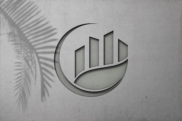 Крупным планом на роскошный макет логотипа