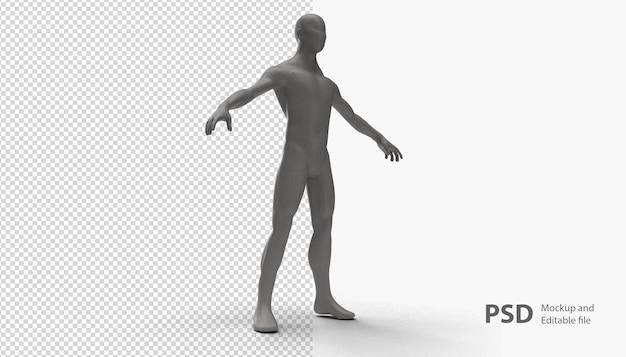 Крупным планом на манекен человек изолированные