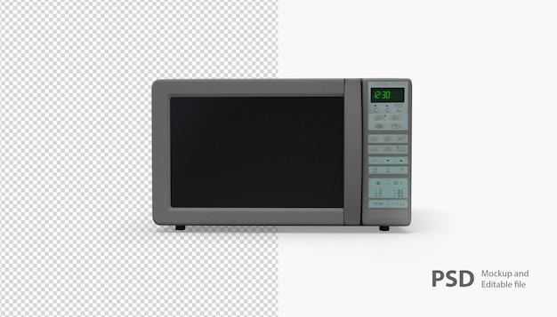 Крупным планом на изолированные микроволновая печь