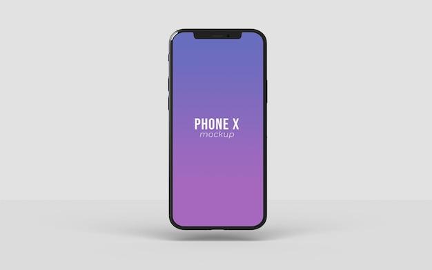 고립 된 전화 이랑 디자인에 가까이