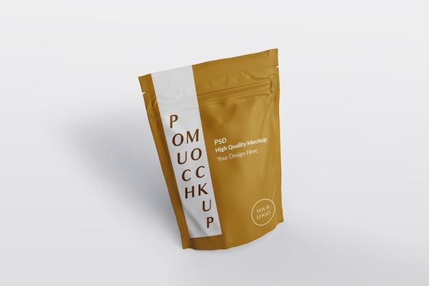 Крупным планом на изолированном макете упаковки