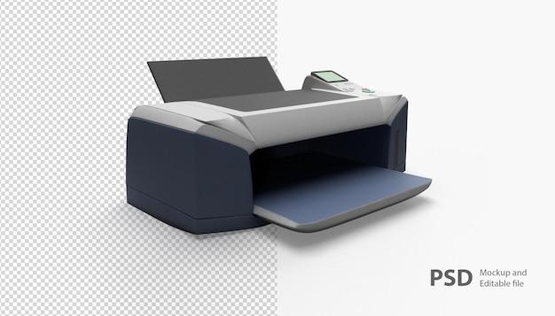 Закройте на изолированном принтере