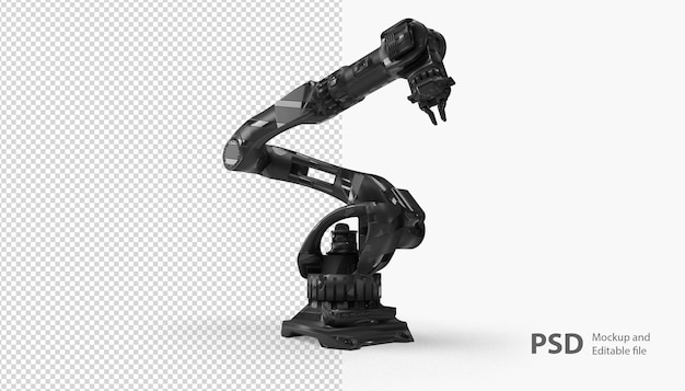 고립 된 로봇 손에 닫기