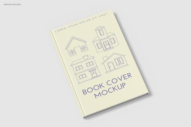 소프트 커버 책 모형 디자인에 가까이