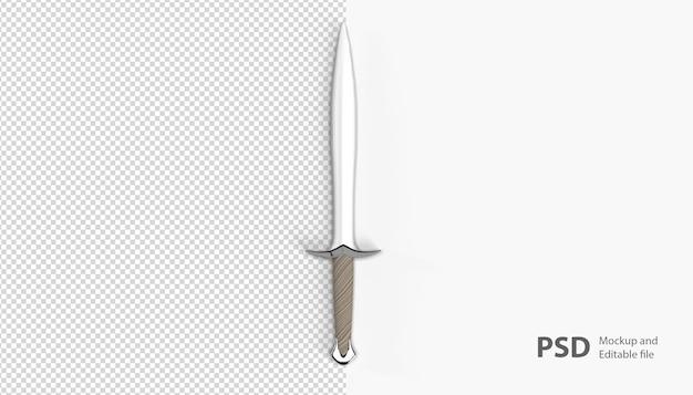 剣のレンダリングをクローズアップ