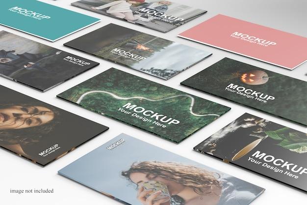 Макет веб-презентации крупным планом