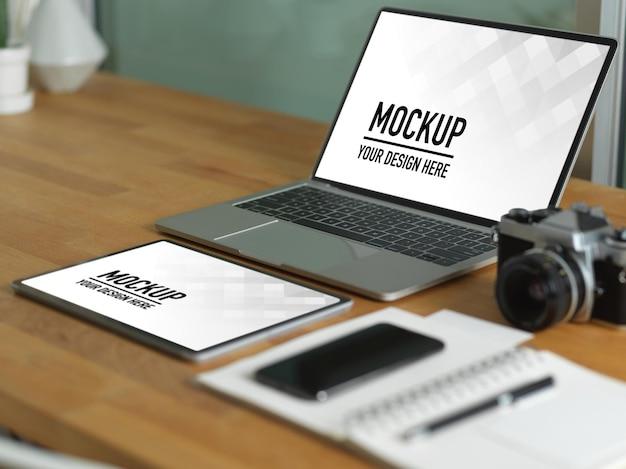 노트북 모형으로 작업대보기 닫기