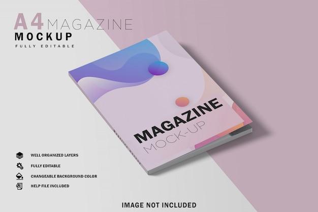 Закрытый макет журнала а4