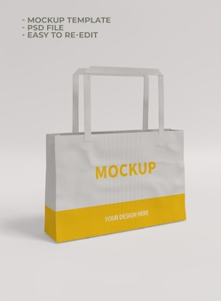 Cloth bag mockup