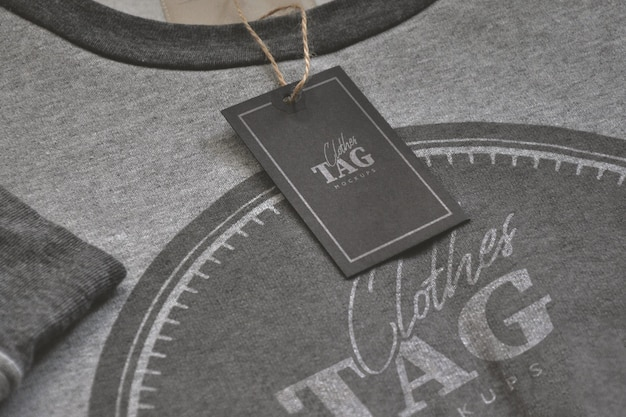 Clothes tag psd