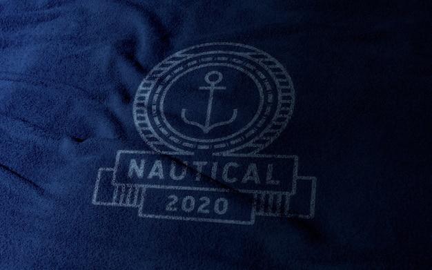 Clothing logo mockup