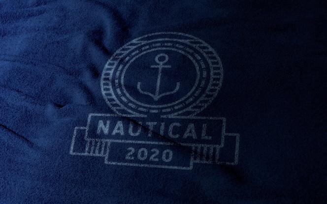 макет логотипа одежды